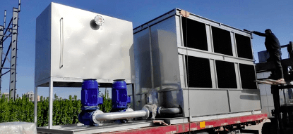 enclosed water cooling system