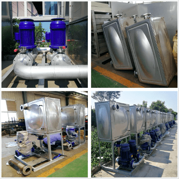 Auxiliary Machinery of water cooling system
